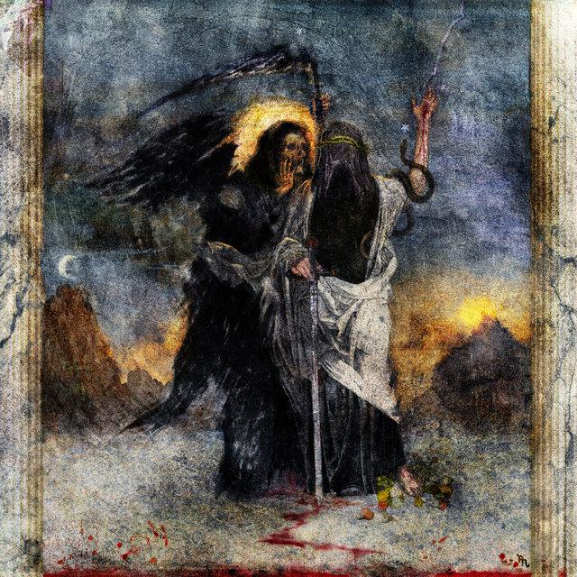 Cover art for album Death & The Magician by DJ Muggs, Rome Streetz