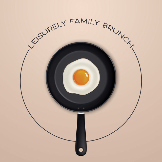 Leisurely Family Brunch - Sleep Well at the Weekend and Have a Late Breakfast with Loved Ones, Mellow Jazz Background, Meal Time, Total Relaxation