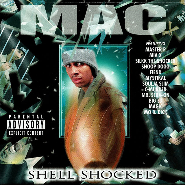 Cover art for album Shell Shocked by Mac