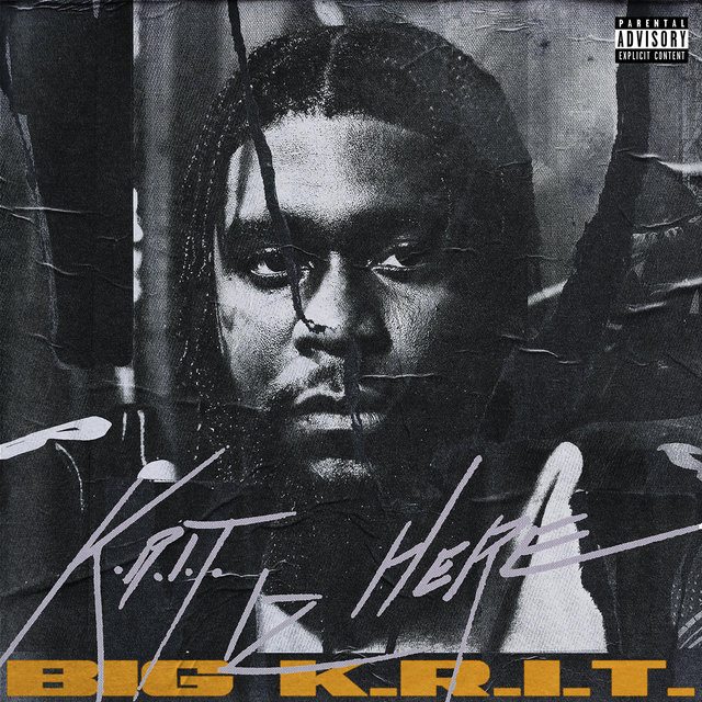 Cover art for album K.R.I.T. IZ HERE by Big K.R.I.T.