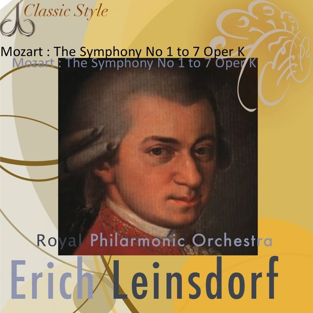 Mozart : Symphonies No. 1 to 7