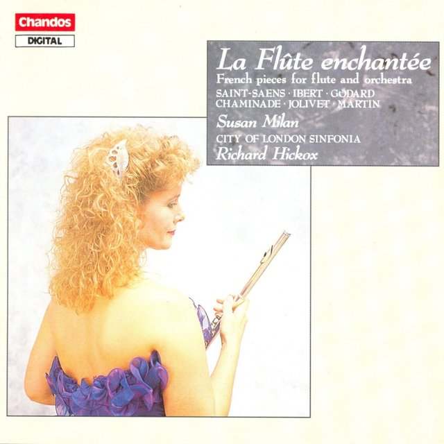 Jolivet / Chaminade / Ibert / Saint-Saens / Martin / Godard: Works for Flute and Orchestra