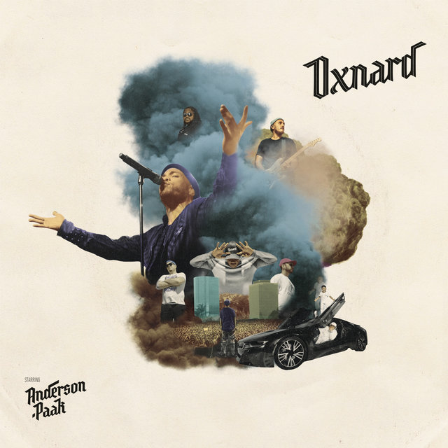 Cover art for album Oxnard by Anderson .Paak