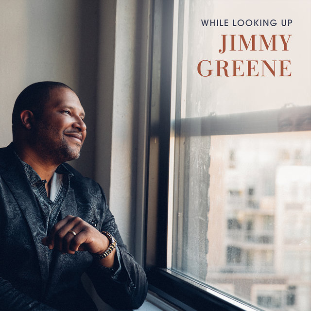Cover art for album While Looking Up by Jimmy Greene