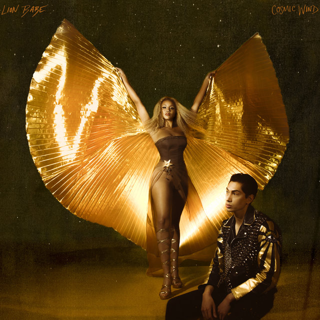 Cover art for album Cosmic Wind by LION BABE