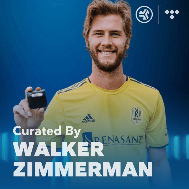 Cover art for album MLS Walker Zimmerman Player Playlist by JLab Audio