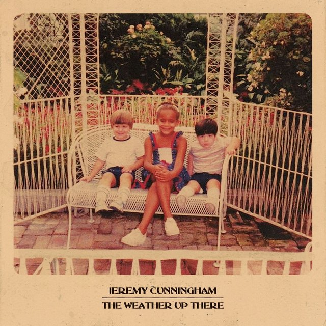 Cover art for album The Weather Up There by Jeremy Cunningham