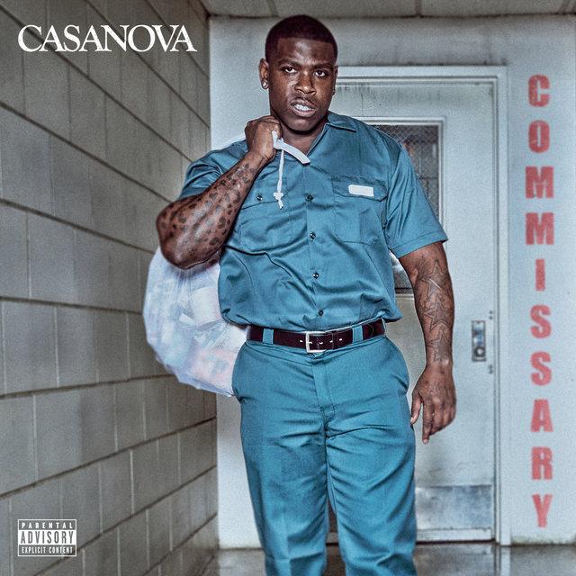 Cover art for album COMMISSARY by Casanova