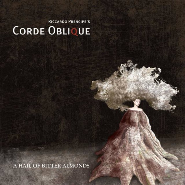 Cover art for album A Hail of Bitter Almonds by Corde Oblique