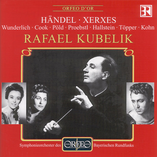 Handel: Serse, HWV 40 (Sung in German)
