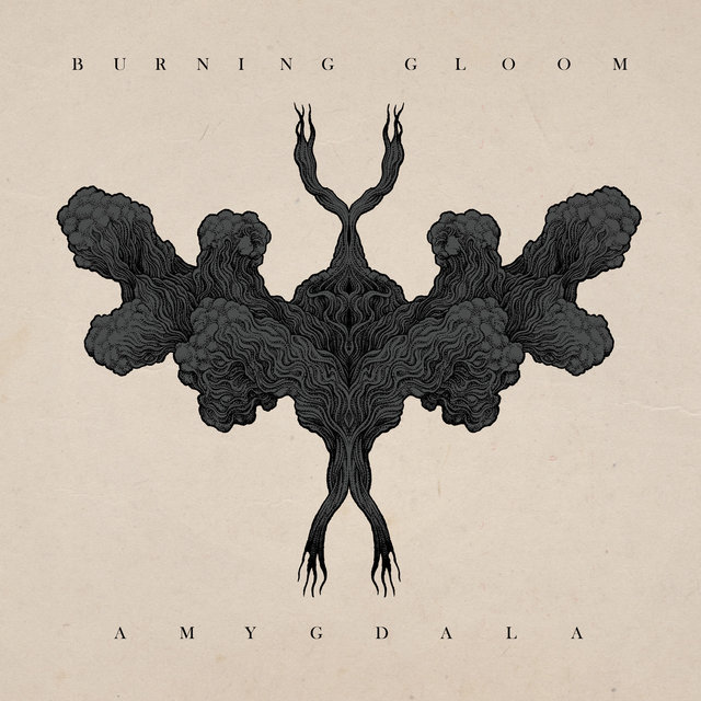 Cover art for album Amygdala by Burning Gloom
