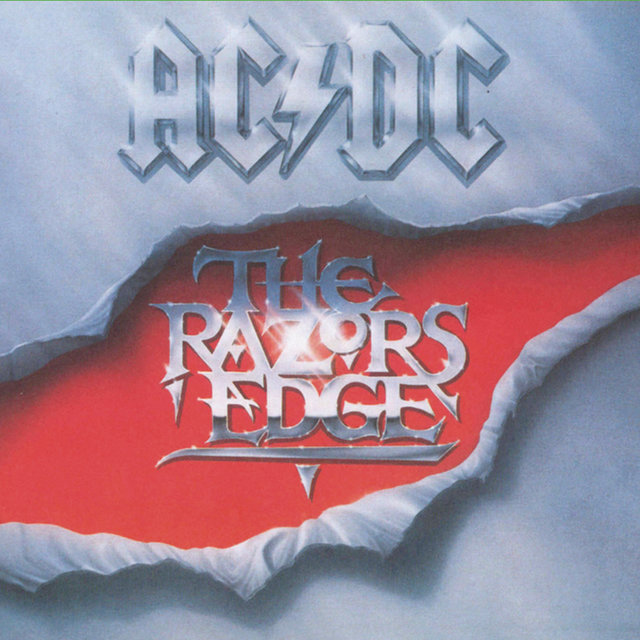 Cover art for album The Razors Edge by AC/DC