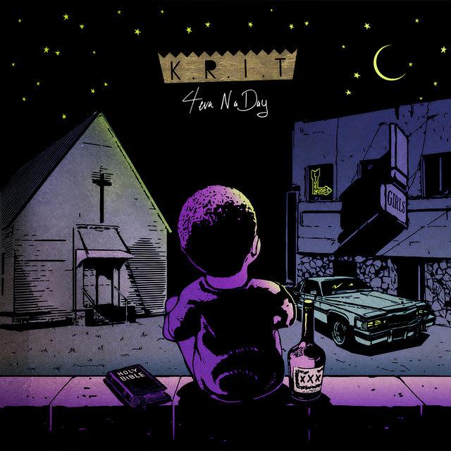 Cover art for album 4Eva N A Day by Big K.R.I.T.