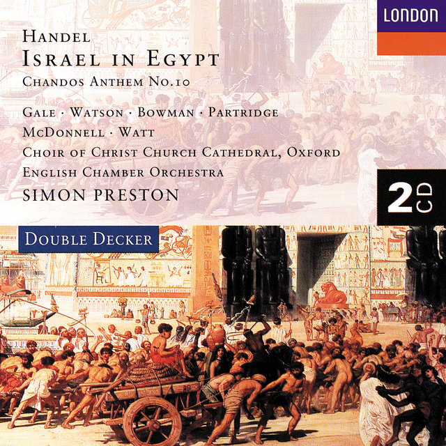 Handel: Israel in Egypt etc.