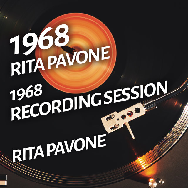 Rita Pavone - 1968 Recording Session