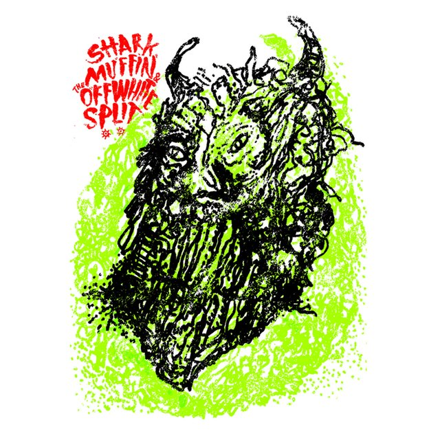 Sharkmuffin / The Off White (Split EP)