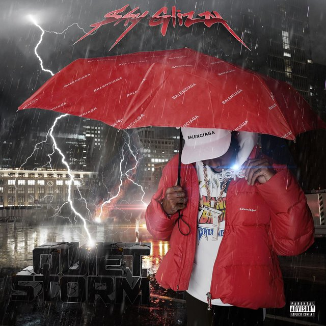 Cover art for album Quiet Storm by Shy Glizzy