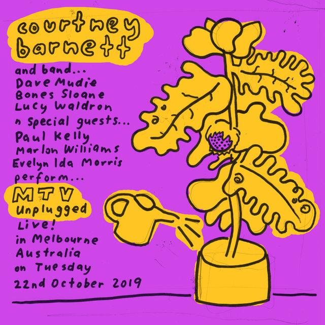Cover art for album MTV Unplugged Live In Melbourne by Courtney Barnett