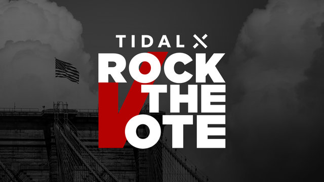 Cover art for album  by TIDAL X Rock The Vote