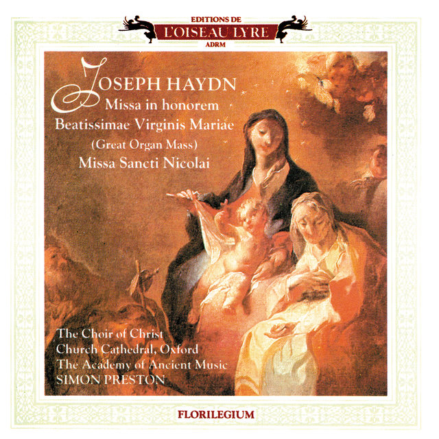 Haydn: Great Organ Mass; Missa Sancti Nicolai; Missa Rorate Coeli