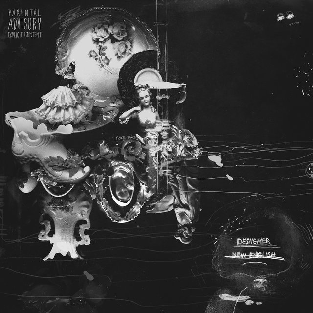 Cover art for album New English by Desiigner