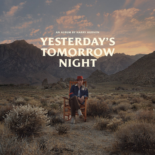 Cover art for album Yesterday's Tomorrow Night by Harry Hudson