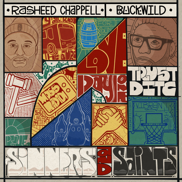 Cover art for album Sinners and Saints by Rasheed Chappell, BuckWild