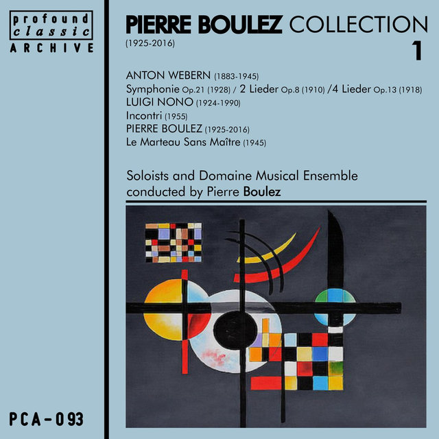 Pierre Boulez Collection, Vol. 1