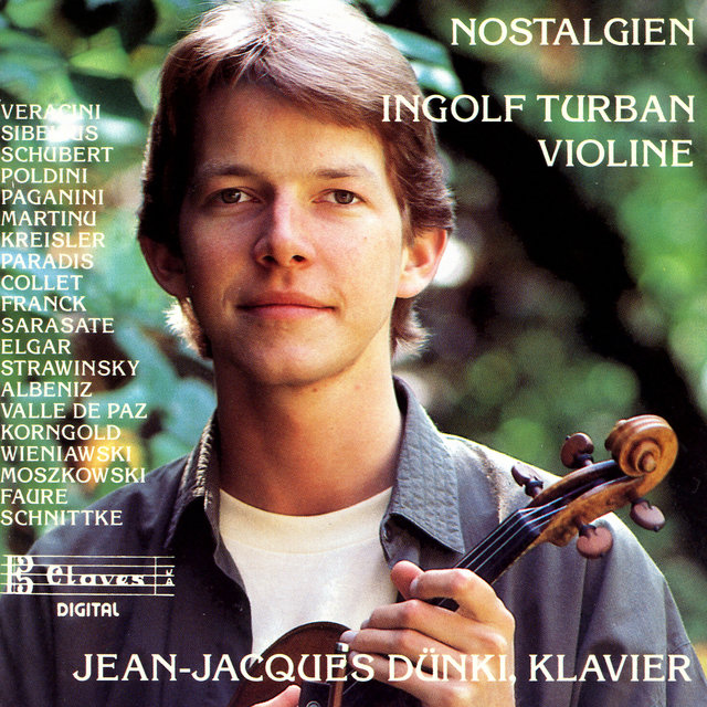 Nostalgien: Transcription & Encore Pieces for Violin & Piano