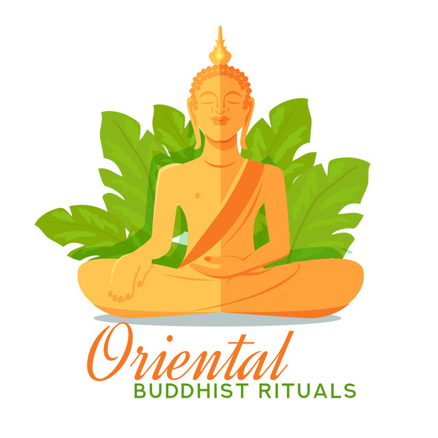 Oriental Buddhist Rituals: Background Music for Meditation Practice, Yoga Exercises, Reiki Therapy, Mantra Chanting and Others