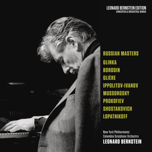 Bernstein Conducts Russian Masters