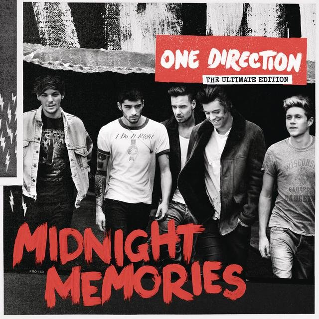 Cover art for album Midnight Memories (Deluxe) by One Direction