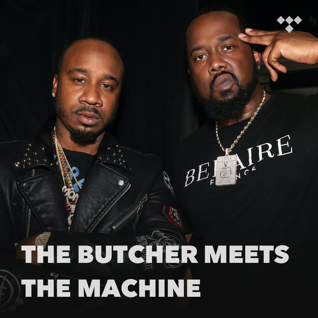 Cover art for album The Butcher Meets The Machine by TIDAL