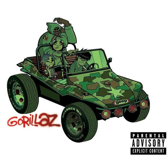 Cover art for album  by Gorillaz