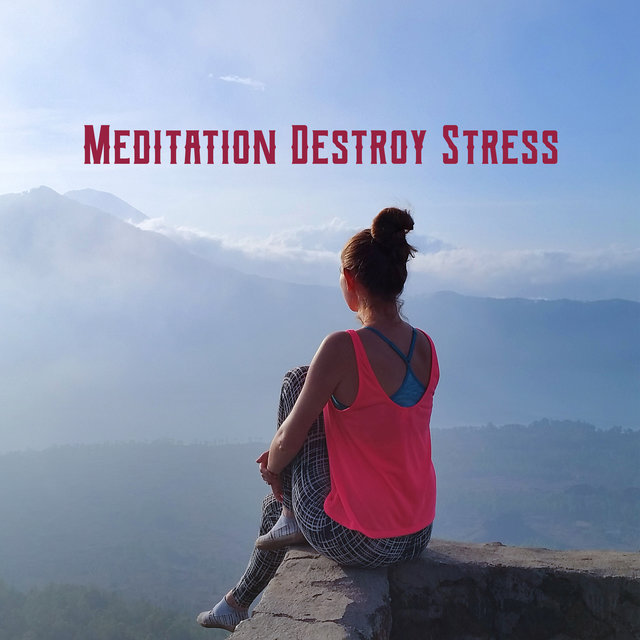 Meditation Destroy Stress - Feel the Deep Emotional Relief During Tranquil Meditative Journey, Calm Down with Zen Session