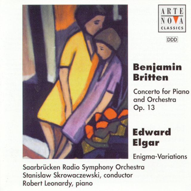Britten: Concerto For Piano And Orch. op. 13/Elgar: Enigma Variations op. 36