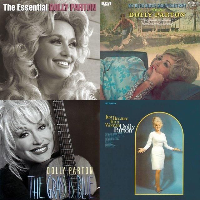 Cover art for album Dolly Parton - Ten Bratten Killers by User