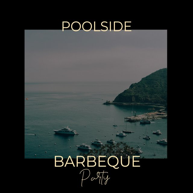 Poolside Barbeque Party