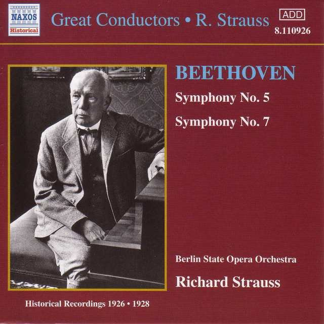Beethoven: Symphonies Nos. 5 and 7 (R. Strauss) (1926-1928)