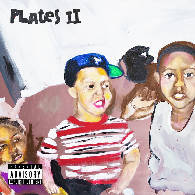 Cover art for album Plates II by Rick Hyde