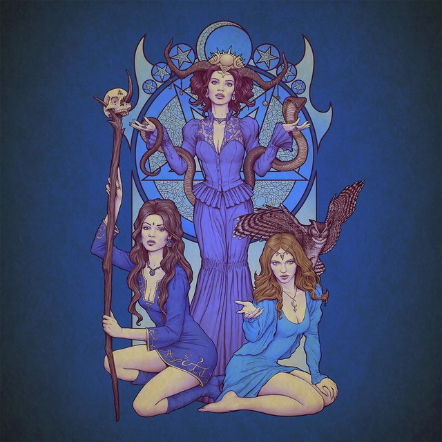 Cover art for album The Witches of Finnmark II by Anders Buaas