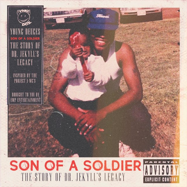 Cover art for album Son of a Soldier by Young Deuces