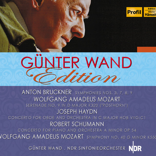 Günter Wand Edition: Works by Bruckner, Haydn, Schumann, & Mozart