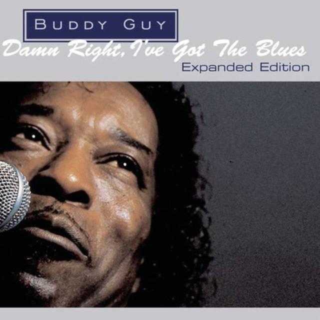 Cover art for album Damn Right, I've Got The Blues by Buddy Guy