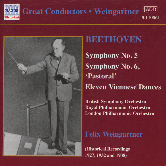 Beethoven: Symphonies Nos. 5 and 6 (Weingartner) (1927, 1932)