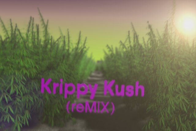 Krippy Kush ((Remix)[Official Lyric Video])