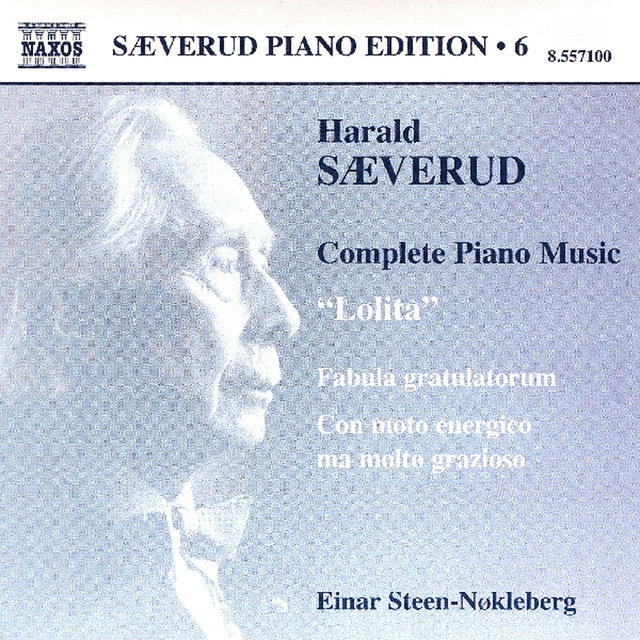 SAEVERUD: Complete Piano Music, Vol. 6