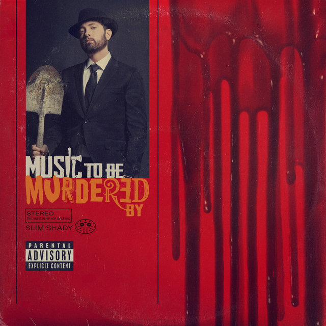 Cover art for album Music To Be Murdered By by Eminem