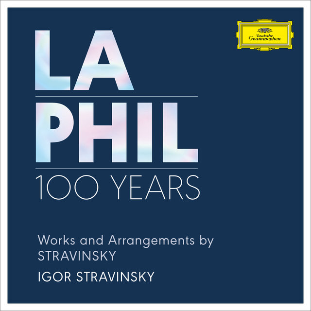 Works and Arrangements by Stravinsky