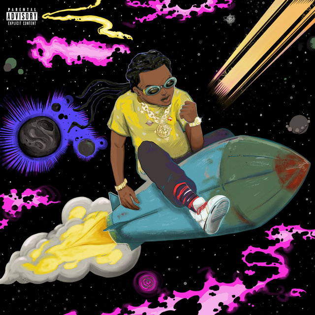 Cover art for album The Last Rocket by Takeoff